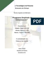 Programa Ampliado de Inmunización