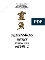 Manual Do Reiki I - Parte Pratica