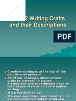 The 12 Writing Crafts