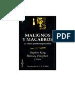 Malignos y Macabros - Varios