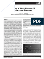Overview of Short-Distance Oil Displacement Processes