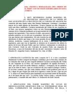 Antonio de la Calancha. Cronica moralizada del Orden de San Agustin en el Perú