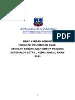 Kertas Cadangan Perkhemahan Unit - Unit Beruniform SEKOLAH KEBANGSAAN KUBOR PANJANG 2013