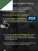 2004 Notarial Practice Rule