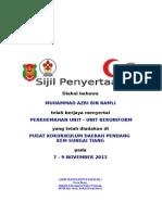 Sijil Penyertaan Perkhemahan 2013