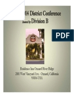 Spring 2014 Tall Tales & International District Conference