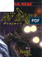 WEG40029 Star Wars the Far Orbit Project 2nd Ed