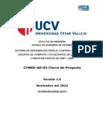 CYBER-AD-03 Cierre del Proyecto.doc