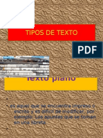 TEXTOS TIPOS