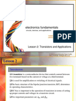electronics fundamentalsTransistors