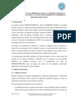 Estudio de Impacto Ambiental - Subestación Chorrillo - Resumen Ejecutivo