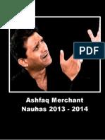 Ashfaq Merchant 2013 - 2014