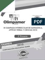 EXAMEN PARMER 2010