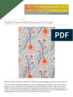 Digital textile image