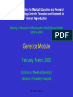 Genetics Module
