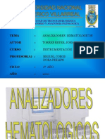 analizadores hematologicos