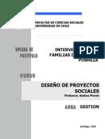 Peroni Andrea. Diseño de Proyectos Sociales dirigidos a Familias en Situación de Pobreza   Extrema