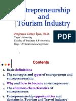 Entrepreneurship & Tourism Industry