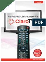 Control Remoto Claro Tv
