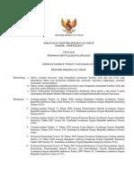 Peraturan Menteri Pekerjaan Umum Nomor