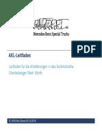 Daimler AKL-Leitfaden Deutsch V01(10.2010)