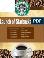 Establishing StarBucks