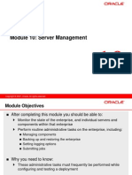 10 Server Management