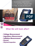 PPT on Battery Testing