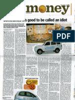Mint Article