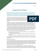 Cisco ConvServPlatform DataSheet