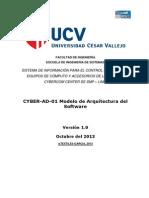CYBER-AD-01 Modelo de Arquitectura del Software.docx