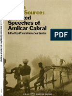 Return to the Source Selected Speeches of Amilcar Cabral
