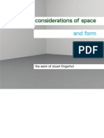 Considerations of Space and Form - The Work of Stuart Fingerhut