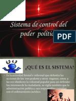 Sistema de Control del Poder Político