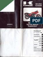 GPZ1100 1983 Kawasaki Service Manual