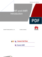 Half Rate & AMR Description