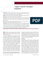 The Role of the Upper Lateral Cartilages in Aesthetic Rhinoplasty