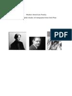 Intergrated Arts Unit - Modern American Poetry - Paul Harris