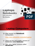 14. Laptops, Notebooks +