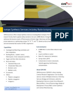 Isotope Synthesis Services Flyer
