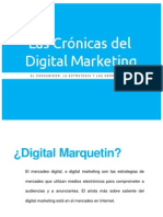 Las crónicas del Digital Marketing