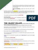 The Silent Killer Aspartame[2]