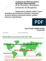 8. CLASESDiabetes mellitus, Cáncer