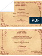 Kriti Invitation