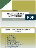 Part (4) Modern Literary Movements -2