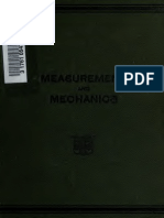 Saterlly_measurement and Mechanics 1913