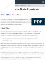 10 Tips for a Better Finder Experience – Computer Skills – Tuts+