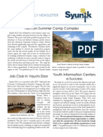Syunik NGO Newsletter Issue 2