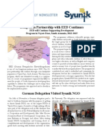 Syunik NGO Newsletter Issue 10