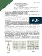 Guía unidad VI Trabajo y energía y Unidad VII Conservación de la energía